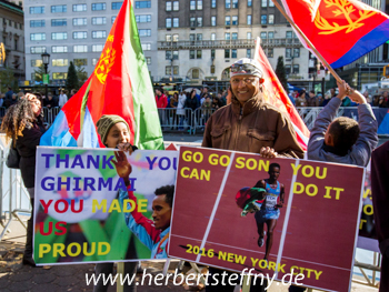 Eritrea Ghebreselassie Fans New York City