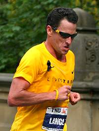 Lance Armstrong bei Kilometer 41