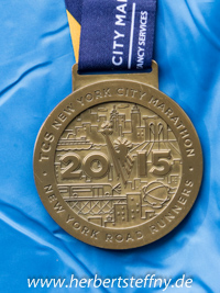 New York Marathon Medaille