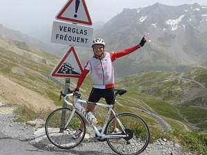 Herbert Steffny am Galibier